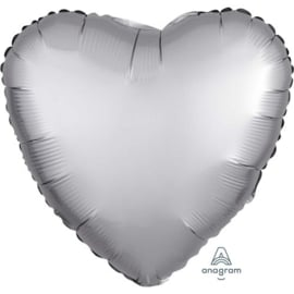 Foil ballon satin silver (18inch)