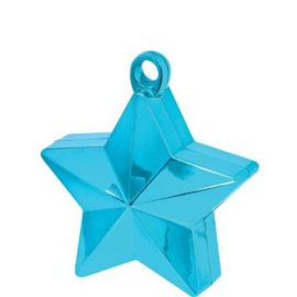 Balloon weight star turqoise