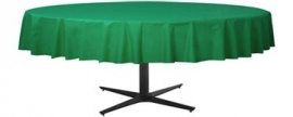Tablecover green round