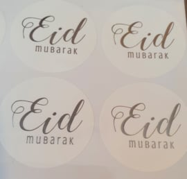 Eid sticker gold modern (12pcs)