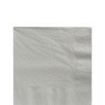 Paper napkins silver (20pcs)