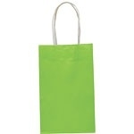 Party bag kraft lime