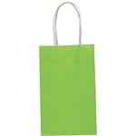 Papieren tasje lime groen