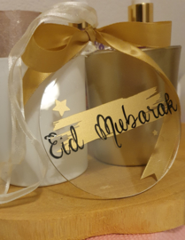 Acrylic ornament Eid