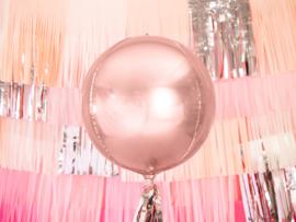 Orbz ballon rose goud (pst)
