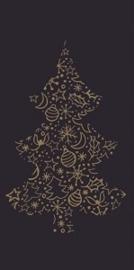 Servetten kerstboom