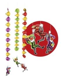 Sinterklaas spiral deco