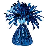Balloon weight blue foil