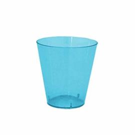 Mini shot glasses blue (12pcs)