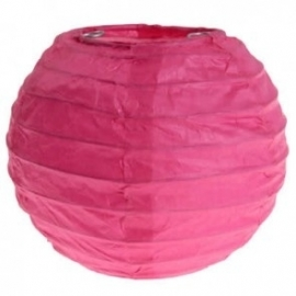Mini lampion fuchsia (2st)