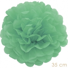Pompom mint green 35cm