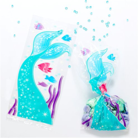 Cello bags mermaid (20pcs)