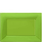 Serving platter green (set of 3)