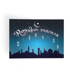Ramadan Mubarak place mats