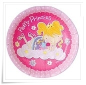 Paper plates princess
