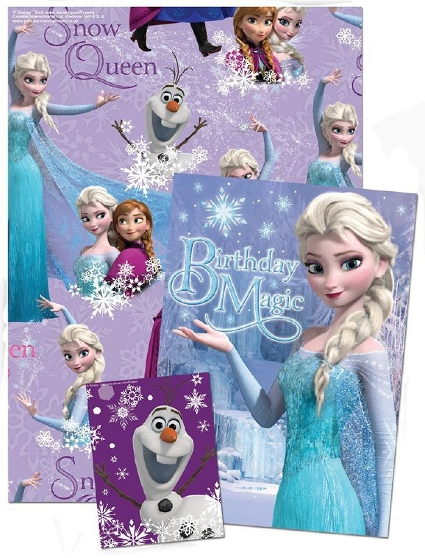 Frozen wrapping set