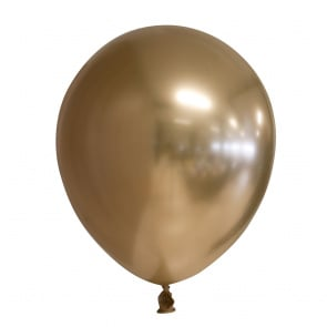 Ballonnen chrome goud (10st)