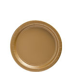 Paper plates gold small (8pc)