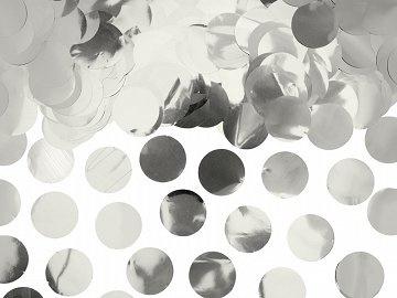XL confetti metallic silver