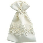 Satin favor bag