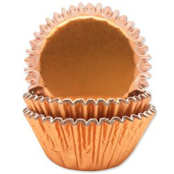 Cupcake cases rose gold foil (45pcs)