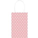 Giftbag pink polkadots