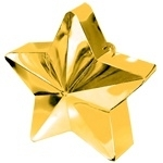 Balloon weight star gold