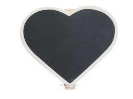 Wooden peg heart