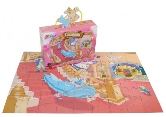 Cinderella floor puzzle