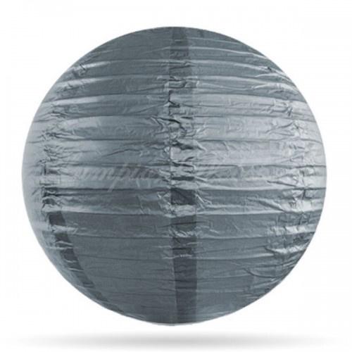 Paper lantern silver 35cm
