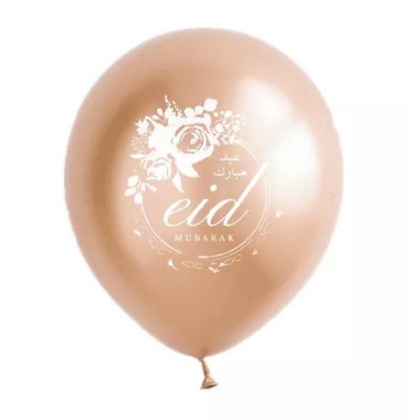 Eid balloons Partyzz mix rose gold (5pcs)