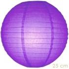 Lampion violet  paars 25 cm