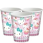 Paper cups Hello Kitty