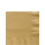 Paper napkins gold (20pcs)