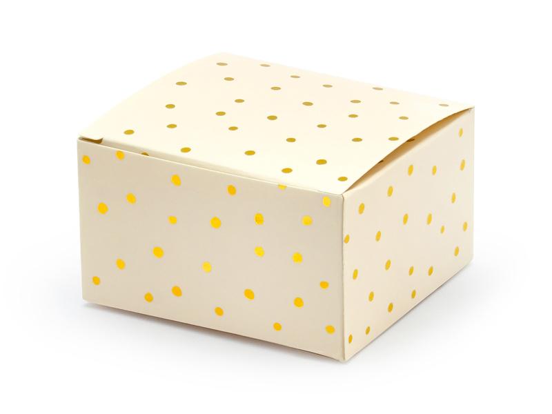 Gift box peach dots (10pcs)