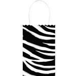 Paper party bags zebra