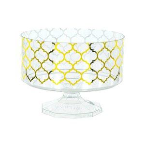 Trifle jar gold foil small