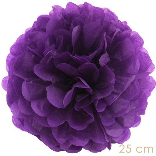 Pompoms purple