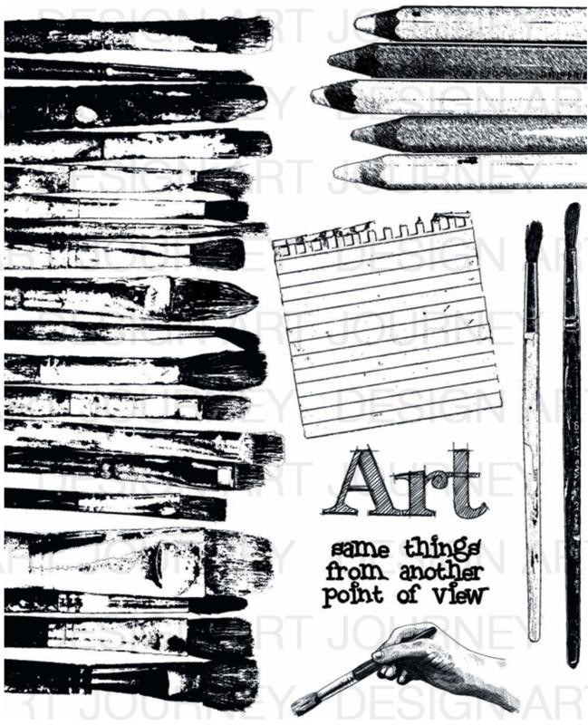 Brushes & Pencils