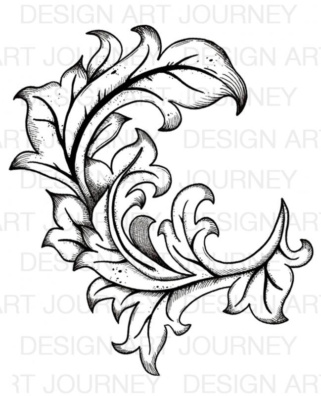 Baroque Swirl