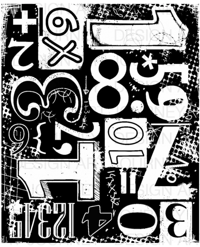 Numbers Blockprint