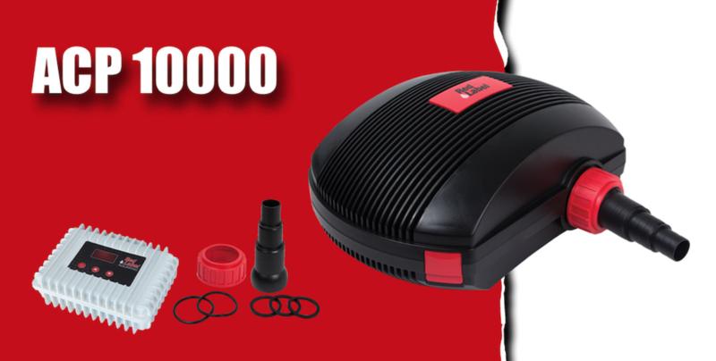Red label ACP 10.000 regelbare vijverpomp