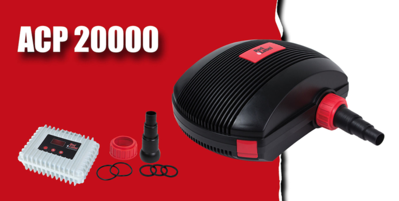 Red label ACP 20.000 regelbare vijverpomp