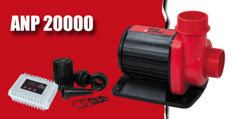 Red label ANP 20.000 regelbare vijverpomp