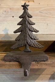 stocking Gietijzeren kasthanger  dennenboom / kerstboom