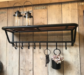 Kapstok/Garderobe rek train coat rack