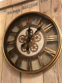 grote Industriele Klok Tandwiel 'open' uurwerk