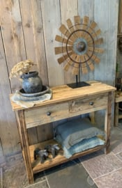 stoere  sidetable 100 x 80