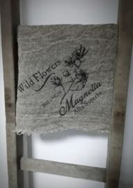 Shabby doek magnolia 45 x 45