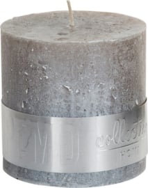 PTMD kaars Metallic taupe  10x10